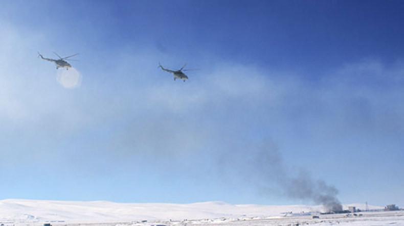 Тактический воздушный десант ЮВО уничтожил условного противника в горах Армении