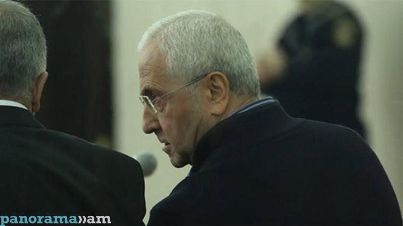 Серго Карапетян не признает предъявленного обвинения