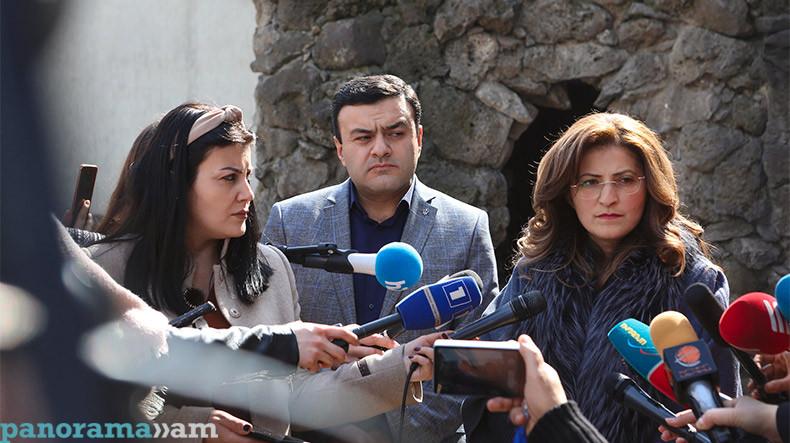 Л. Саакян: Из-за действий полицейских в доме Арама Варданяна пострадала его пятилетняя внучка