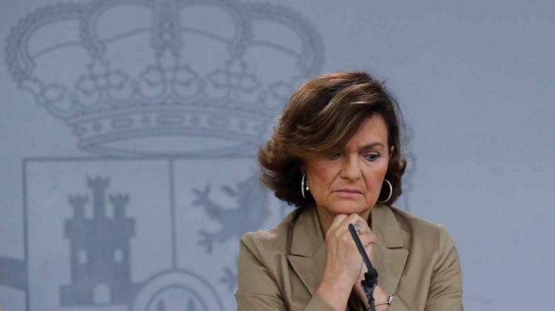Вице-премьера Испании выписали из больницы: она будет лечиться от коронавируса дома