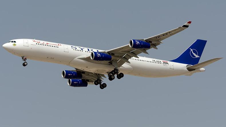 После 8-летнего перерыва состоялся первый рейс из Дамаска в Ереван
