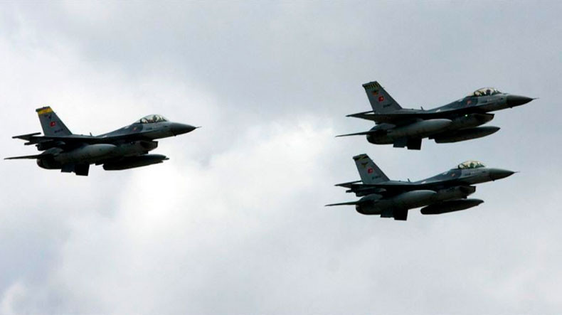Turkish warplanes attack Kurdish targets in Iraq
