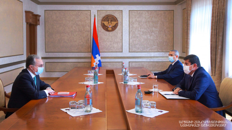 Artsakh president reaffirms commitment to the peaceful settlement of the conflict