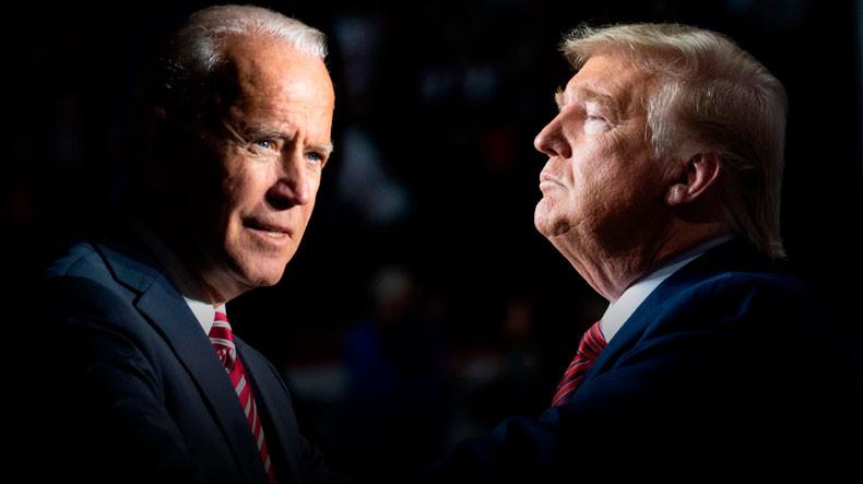 Trump says Biden has been 'brainwashed'