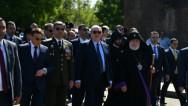 Հաղթանակի և խաղաղության տոնի առթիվ նախագահ Սարգսյանն այցելել է «Հաղթանակ» զբոսայգի