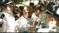 Ռոբերտ Քոչարյանի աջակիցների ու ընդդիմադիրների ակցիան՝ դատարանի բակում