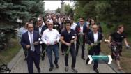 Արցախի Անկախության 28-րդ տարեդարձի կապակցությամբ Ռոբերտ Քոչարյանի աջակիցները այցելել են Եռաբլուր