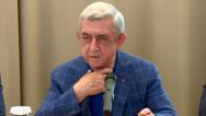 Այս ստահակների համար Ղարաբաղը վզից կախված քար է եղել, մեծ քար. Սերժ Սարգսյան