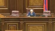 Take a medicine, Mrs Postanjyan: Galust Sahakyan