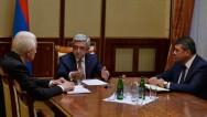 Президент С. Саргсян: Нынешние геополитические развития заставляют усиливать меры по обеспечению безопасности граждан Армении