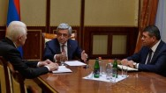 Serzh Sargsyan: Current developments make us step up security