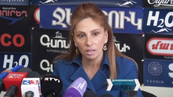 Zaruhi Posytanjyan: In essence the Government gave a positive conclusion on Artsakh recognition draft