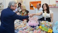 Президент Армении присутствовал на открытии выставки «Новые перспективы для сирийских армян»