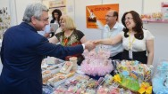Serzh Sargsyan considers efforts of  Syrian-Armenians in manufacturing inspiring
