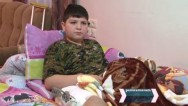 Children wounded in rocket artillery attacks recovering