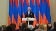 «Они пали, чтобы Армения жила»: президент С. Саргсян вручил награды членам семей погибших в 2016г. военнослужащих и добровольцев