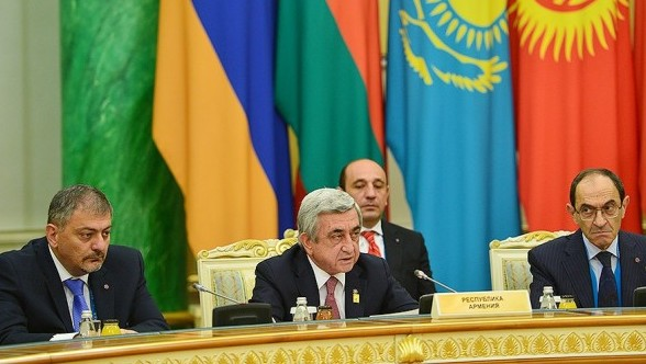 RA President: Escalation of situation by Azerbaijan became a serious challenge for EEU regional security