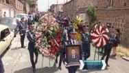 Похороны полковника Артура Ванояна, погибшего при захвате полка ППС полиции в Ереване