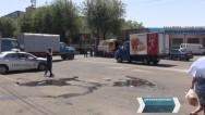 Խորենացիում ոստիկանությունը փոխեց բեռնատար մեքենաների տեղը