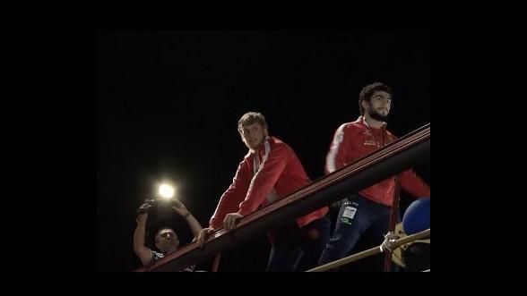 Медалисты Олимпийских игр вернулись в Армению
