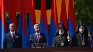 «Мы сдержим своё слово». Речь Сержа Саргсяна на военном параде к 25-летию независимости Армении