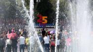 Праздничное настроение на Площади Республики