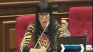 Наира Зограбян призвала не представлять парламенту Армении утопических проектов