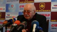 Գագիկ Հարությունյան. Մենք մտածում ենք, որ Թուրքիան մասնատման եզրին է