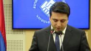 Ален Симонян: Политические силы блока «Выход» склонны к объединению в одну партию