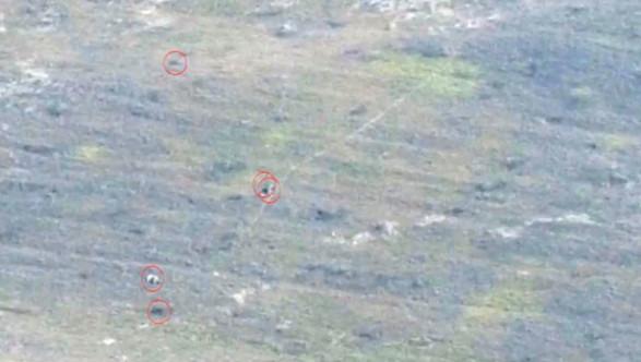 Минобороны Армении обнародовало видео о наступлении ВС Азербайджана