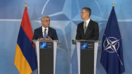 Armenia's President: Armenia-NATO relations are based on common interests and  need