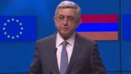 Серж Саргсян: Армения и ЕС завершили переговоры вокруг нового рамочного соглашения
