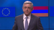 Serzh Sargsyan: I can gladly mention that the sides have completed the talks