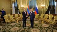 Serzh Sargsyan, Vladimir Putin discuss NK conflict settlement process