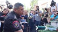 ՊՊԾ գնդի տարածքում տեղի ունեցավ հիշատակի միջոցառում՝ նվիրված սպանված ոստիկաններին