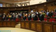 ԱԺ-ում մեկ րոպե լռությամբ հարգեցին մարտի 1-ի զոհերի հիշատակը