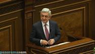 Սերժ Սարգսյանն ընտրվեց ՀՀ վարչապետ