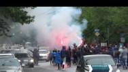 Մաշտոցի պողոտայից ակցիայի մասնակիցներ բերվեցին ոստիկանություն