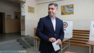 NSS cheif takes part in Yerevan elections