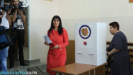 Prosperous Armenia's mayoral candidate says propaganda carried out agianst her party on silence day