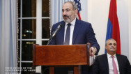 PM Pashinyan addressing Armenian community in New York