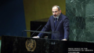 Премьер Армении на сессии ГА ООН: Карабах не должен быть в составе Азербайджана