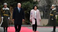 Նախագահի նստավայրում տեղի է ունեցել Վրաստանի նախագահի դիմավորման պաշտոնական արարողությունը