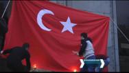 Ազատության հրապարակում Ջահերով երթից առաջ այրեցին Թուրքիայի դրոշը
